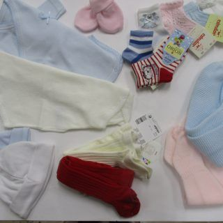 COMPLEMENTOS:leotardos,ropa interior,baberos,calcetines.....
